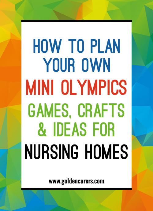 How to host your own Mini Olympics