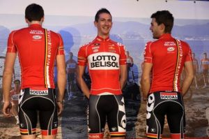team lotto belisol teamkit jersey saison 2014