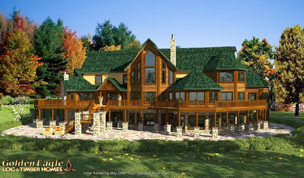 Golden Eagle Log And Timber Homes Plans Pricing Plan