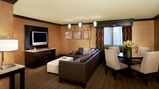 One Bedroom Parlor Suite Golden Nugget Las Vegas