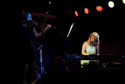 Daithi, Elaine Mai and Rachel Boyd at Workmans | Review
