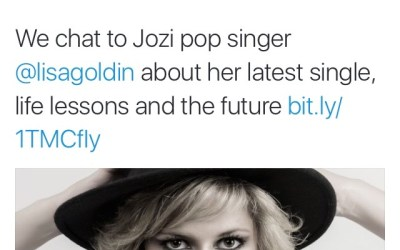 Channel24 Music: We chat to Jozi pop singer Lisa Goldin BY Jean-Marie Korff