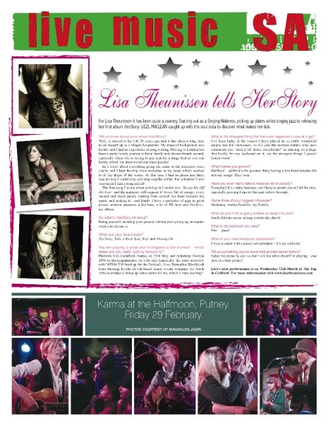 UK 2006-2010, Press - SA Promo Magazine