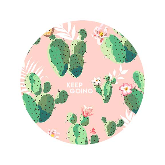 Free Cactus Printable by Gold Standard Workshop
