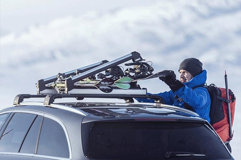 Rooftop Ski Rack Lovequilts