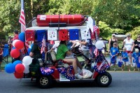 1000+ images about 4th of July themed golf carts on ...