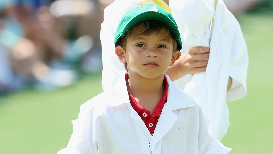 how old are tiger woods children charlie and sam woods