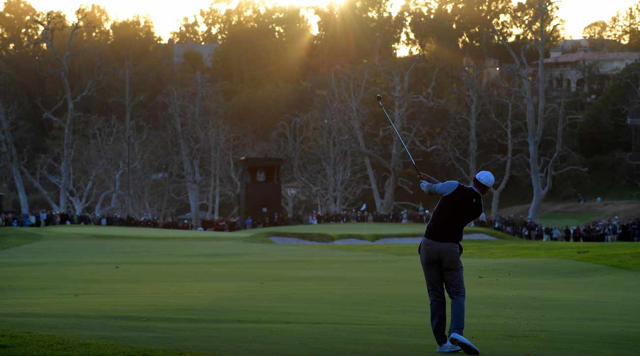 tiger woods genesis open tee time