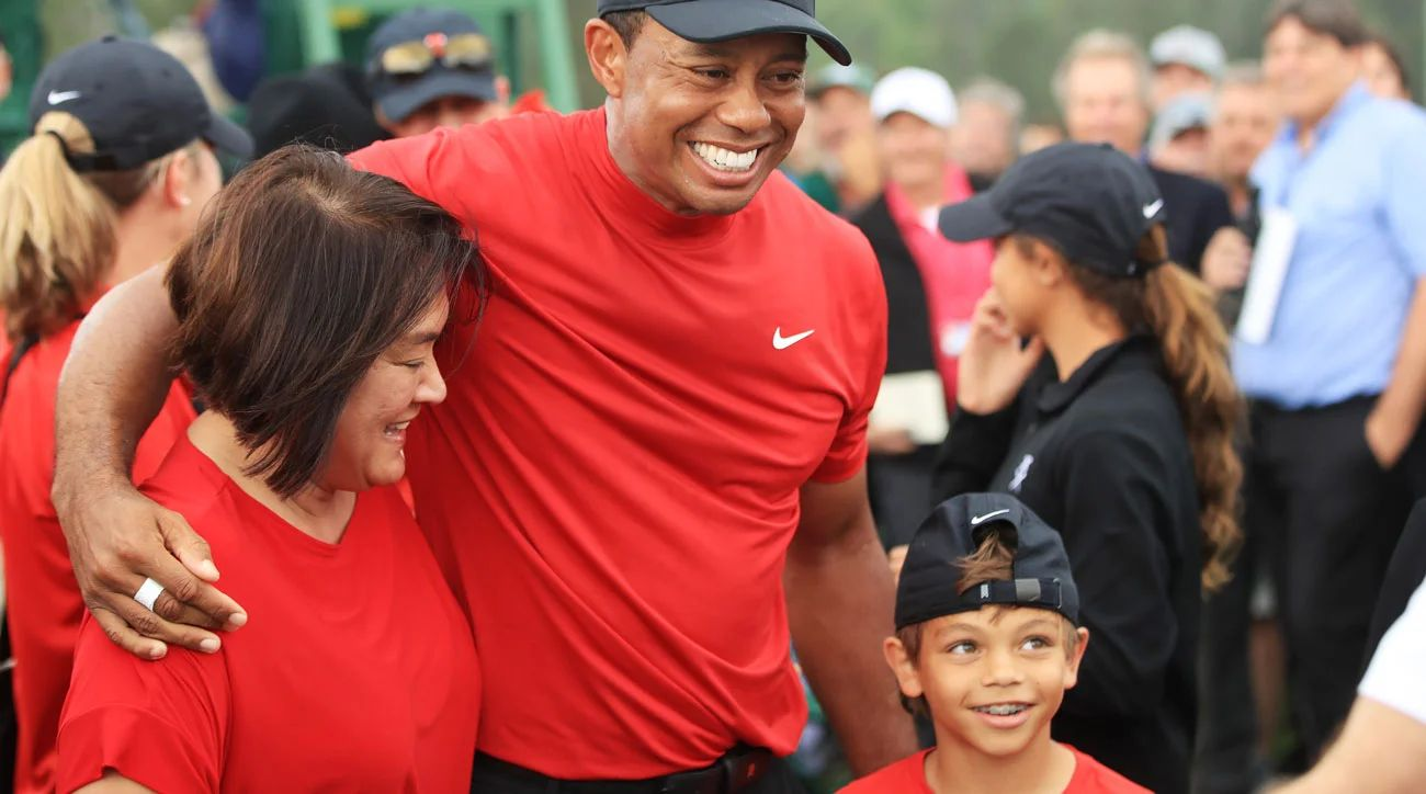 pictures of tiger woods children 2019 images