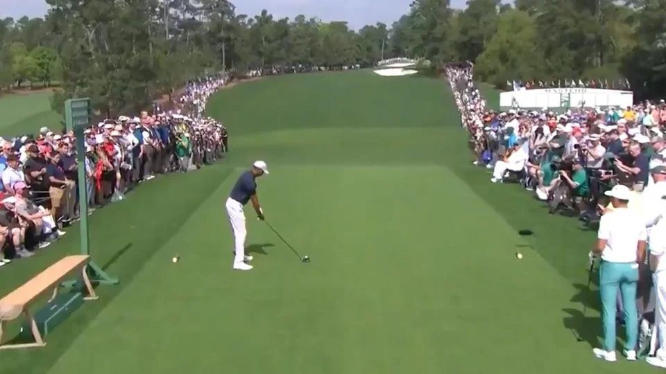 tiger woods tee time sunday masters 2019