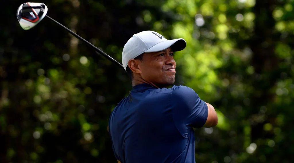 tiger woods wells fargo golf tournament