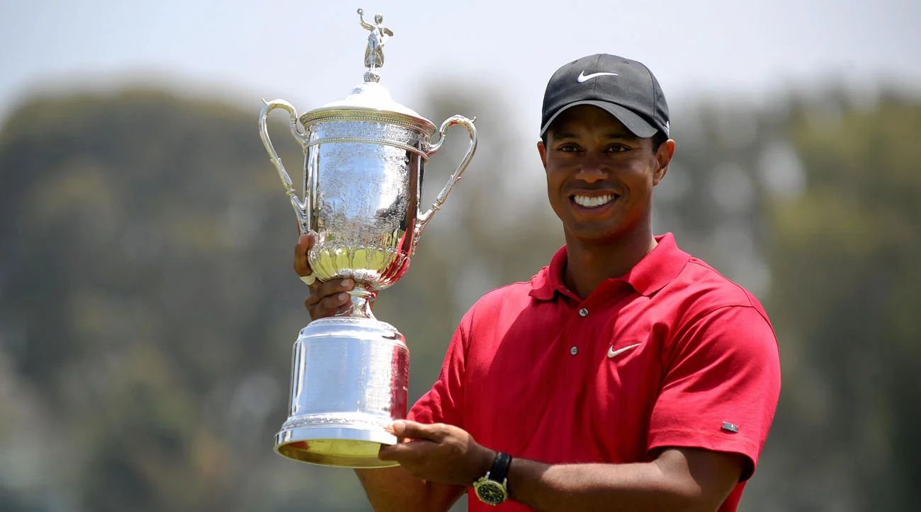 tiger woods age at first win