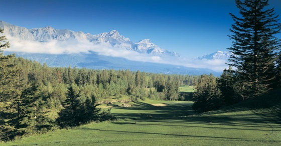 Stewart Creek golf course - Canadian Rockies