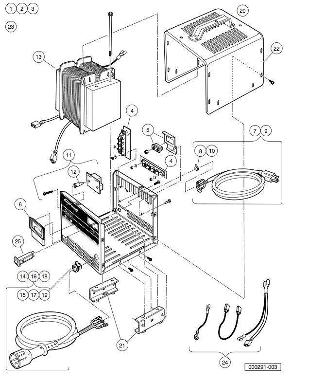 club car powerdrive 2 charger wiring diagram