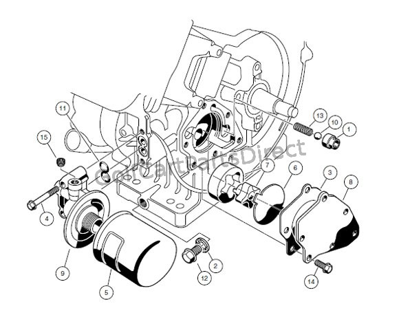 club car fe290 engine diagram