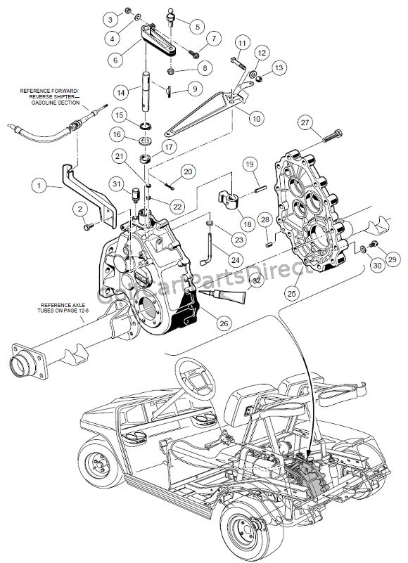 car transmission diagram