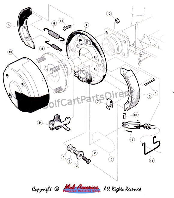 club car ds brake schematic
