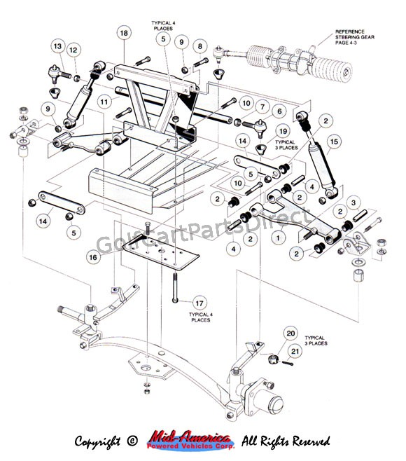2005 ez go golf cart wiring diagram