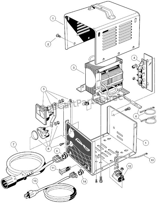 model 22110 club car schematic