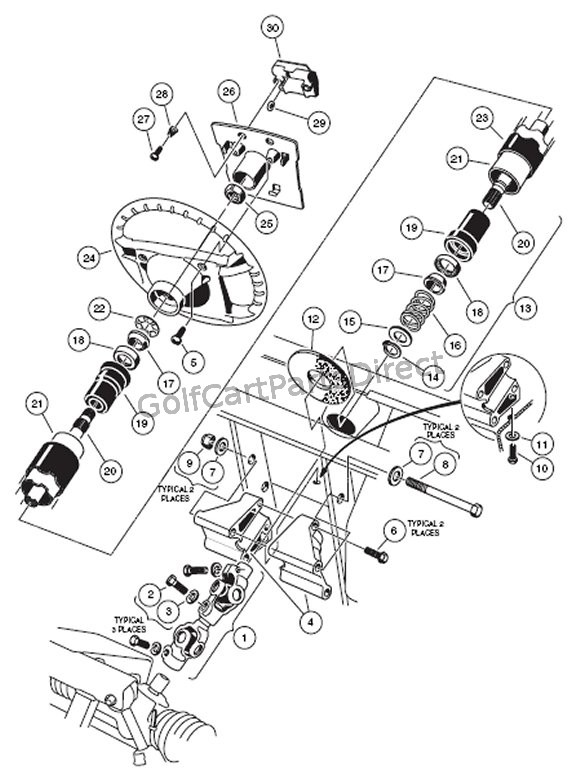 wiring gas vehicle