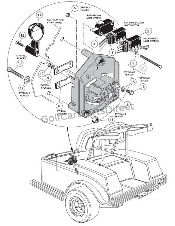 96 club car 48v ds wiring diagram