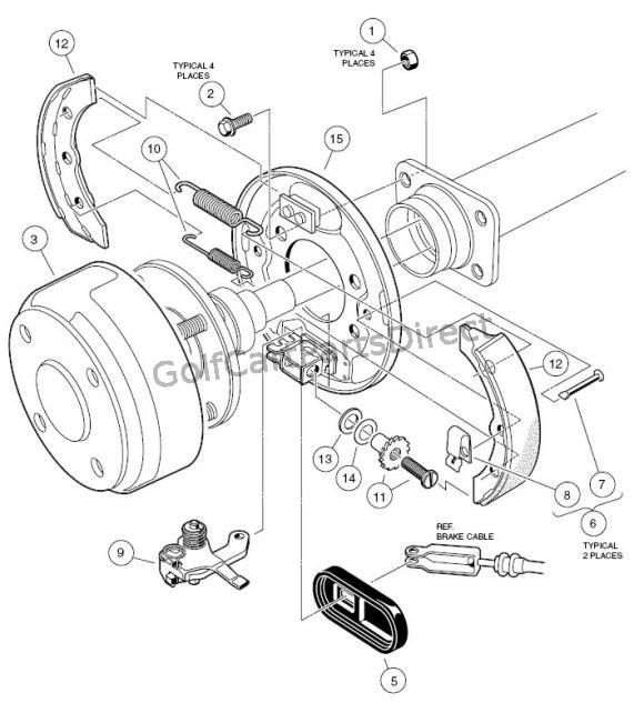 Club Car Precedent Brake Light Wiring Diagram Wiring Diagram