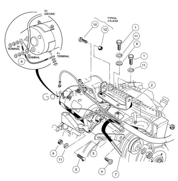 club car precedent battery wiring diagram free download