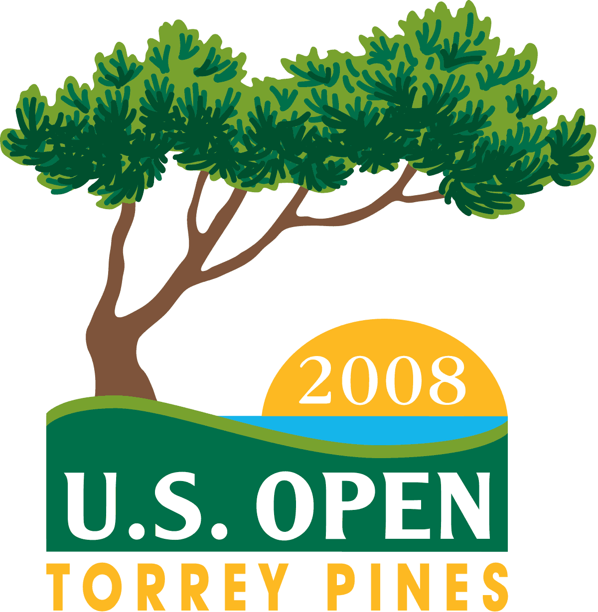 2008 tiger woods us open highlights