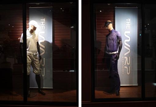 2015年SSコレクションからデビューする注目のゴルフウェアブランド、THE WARP by ENNERRE|ザ ワープ バイ エネーレ