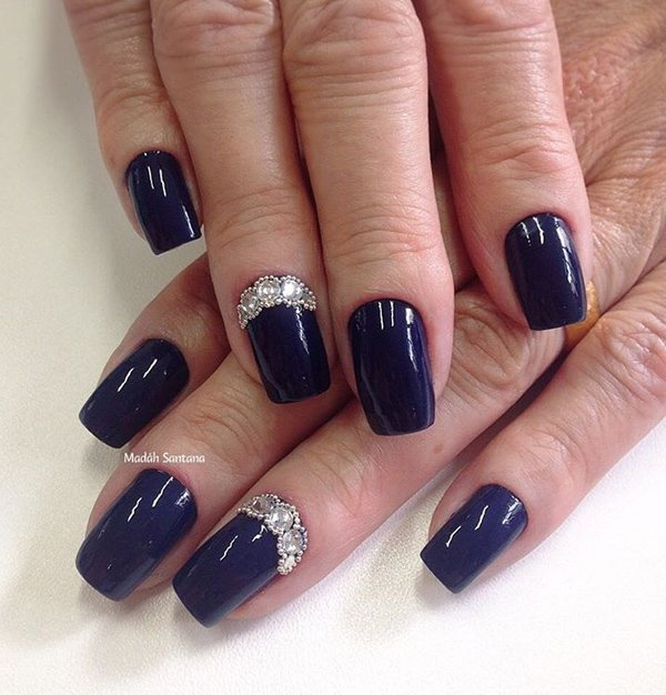 Nail Polish Colors To Match Blue Dress Hession Hairdressing