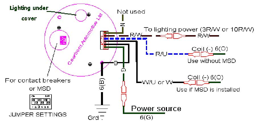 Tach Wiring Diagram - Wiring Diagram Data