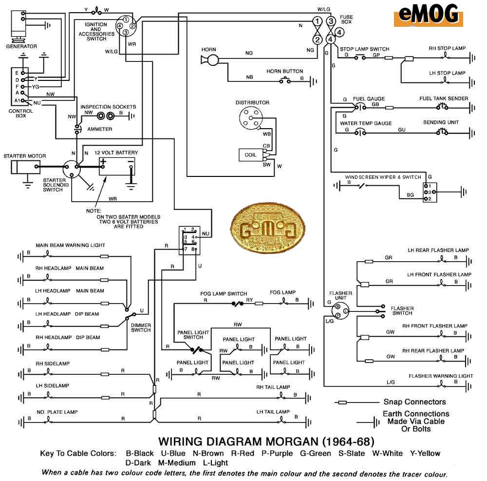 nd alternator wiring diagram