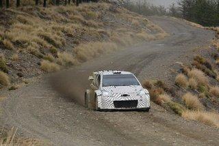 Test Toyota Gazoo Racing WRC 2017