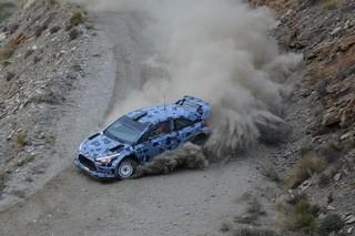 TEST HYUNDAI WRC 2017