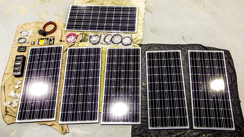 Our 960 Watt RV Solar Install \u2013 A Step by Step Guide