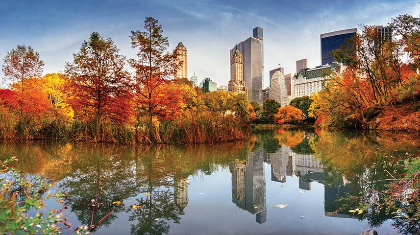 Fall Wallpaper Ocean Autumn New York City Skyline Go Next