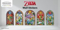 Nintendo UK store - Legend of Zelda 'stained glass' wall ...