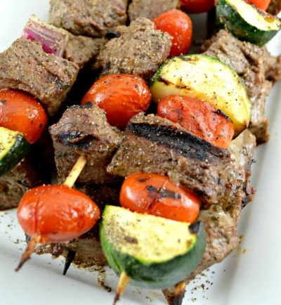 Shish Kabob-Tender Chunks of Marinaded Grilled Beef
