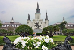 Jackson Square in New Orleans is one of the Top 5 places for a picnic