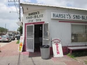 Hansen's snowballs New Orleans