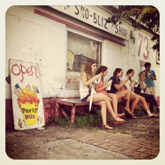New Orleans Sno Ball, New Orleans summer, Hansens Sno Bliz
