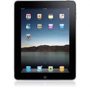 iPad hoofdscherm