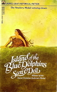 Island Of The Blue Dolphins Laurel Leaf Cover Scott O'Dell