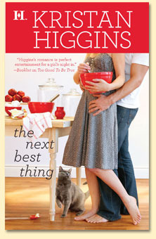 The Next Best Thing, Kristan Higgins, Book Cover, mixing bowl