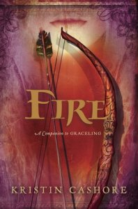 Fire, Seven Kingdoms, Kristan Cashore, Book Cover