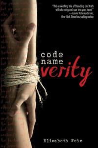 Code Name Verity Elizabeth Wein Book Cover