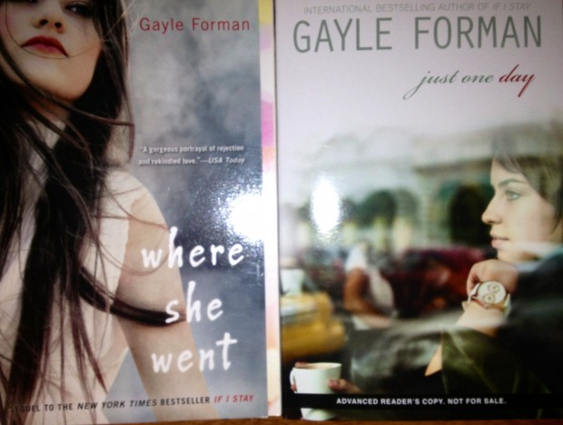 Where She Went by Gayle Forman, Just One Day by Gail Forman