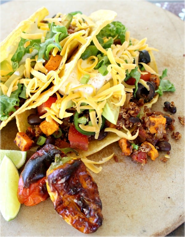 Black Bean and Quinoa Tacos - Good Dinner Mom