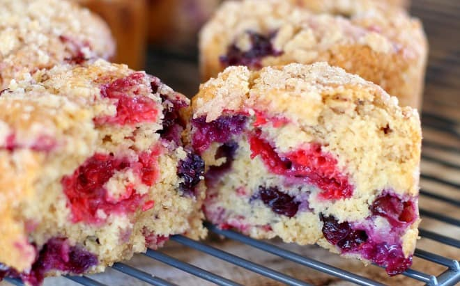 Perfect Blueberry Muffins in this easy blueberry muffin recipe ...