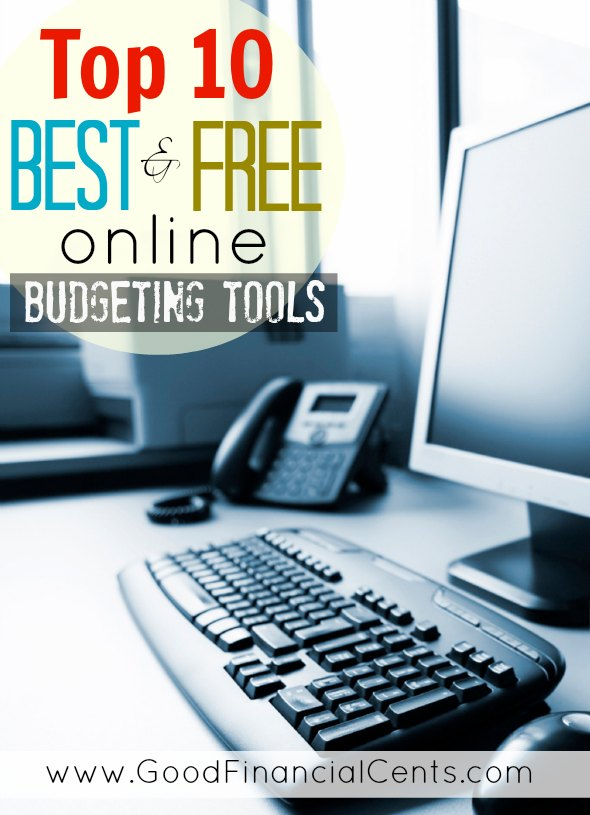 Top 10 Best (and Free) Online Budgeting Tools - Good Financial Cents - online free budget tracker